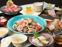 【夏三国膳】和牛も海鮮も♪爽やかな夏の味覚を召し上がれ!