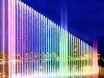 日本最大 全長85mの巨大噴水が織りなす、水上エンターテインメントショー 10/27新登場!※画像はイメージ