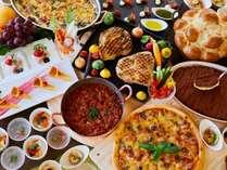 トロティネのお野菜をふんだんに使用したヘルシー料理をお楽しみください!※写真はイメージです。