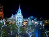 【冬の光の王国】期間:10/5~5/6 新スポット!白銀の世界「Wishes Wonderland」