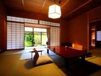 【客室Bタイプ一例「梔」】 家族旅行や友達と大勢での旅行にピッタリのお部屋です。
