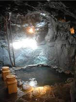 【貸切洞窟風呂】テーマパーク風洞窟風呂。カップルに大好評