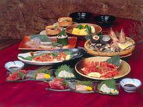 【大漁プラン】山海賊料理 伊勢湾の幸と新鮮なお刺身(2名盛一例)