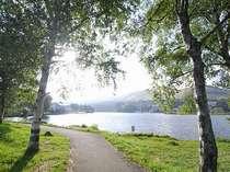 時間が止まっているかのようなくらいに美しい、自然散策をお楽しみください。