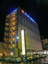 スーパーホテル函館・夜