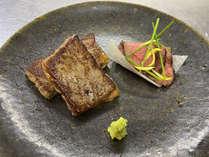 赤牛サーロインステーキ120グラム & 赤牛モモローストビーフ食べ比べ