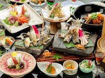 ■基本会席<極>■<1組様限定>~料理長渾身の美しい京料理。器とともに感動を伝えたい~