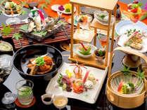 【貴船ふじやのこだわり】新鮮な川魚を、貴船の水で清めてから調理しております。そのひと手間は譲れない。