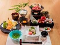夕食は天ぷら御膳♪