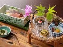 「創作料理 いちの川」で四季折々の山菜をふんだんに使った旬の味をご賞味下さい