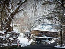 雪景色もまた格別ですね