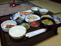 *【朝食】自家製野菜を使った身体に優しい朝ごはん