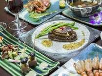 シェフズ特選ディナー(イメージ) 皿の上で鮮やかに輝く石垣島の旬を、どうぞ五感でお楽しみください。