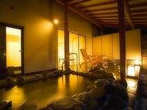 客室露天風呂・岩風呂イメージ