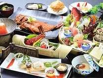2016:旬彩・冬料理。伊勢海老、金目鯛などの豪華海の幸を季節替わりの調理方法でご提供します。