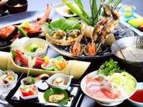 2017:四季彩・夏料理。※9月中旬まで提供予定。金目鯛を中心に季節替わりの調理方法でご提供します。
