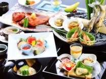 2017:味彩・夏料理。※9月中旬まで提供予定。海の幸を中心に季節替わりでご提供します。
