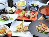 良い素材を少しずつ、量を控えながら質を保った少食の方向けの特別会席膳。