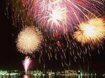 ■≪柴山潟湖上花火≫2017年8月1日~8月31日 全室レイクビューでご覧いただけます♪