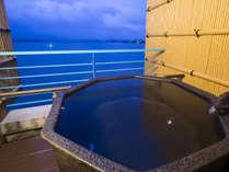 ■露天風呂付客室 ◆最上階8階の至福のプライベート空間と旬のプレミアム特撰会席を満喫するプラン◆