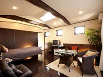 ■シングルルーム(くぬぎ)■お一人様専用客室♪ローベッドにフローリングの快適空間です★