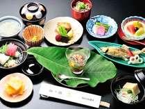 本格懐石料理(夏一例)