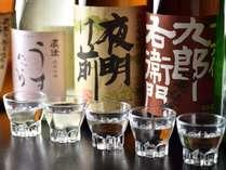 ■3種の地酒を利き酒セットで試して、その中からお好みの地酒1合をお選びください