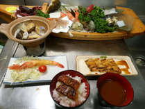 【三河を味わうプラン夕食一例】三河湾の美味をお届けします