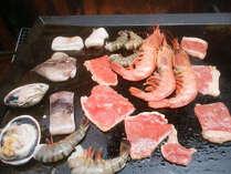 ≪お肉と海鮮のBBQ≫お腹いっぱいで大満足☆