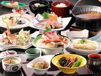 【山海の旬の幸を会席料理でゆったりと】季節の膳プラン
