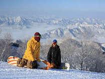 とことん滑る派なら!! スキージャム勝山 リフト2日券付≪1泊朝食≫