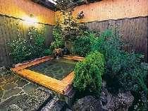 【客室風呂】全ての客室に露天風呂が備わり癒しの時間を独占できる!