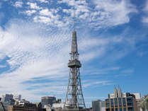晴れた日の名古屋テレビ塔
