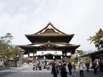 日本最古1400年の歴史を持つ長野県善光寺。