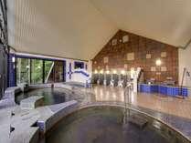 *【杜の湯(3階)】毎分120リットルの湧出量!100%源泉かけ流しの貴重な温泉です!