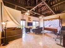 *【部屋(スイート)】落ち着いた色合いでまとめられた客室は心も落ち着くリゾートスタイル。