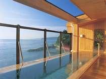 *露天風呂「走り湯」/目の前は青々とした海・空が広がり、心身ともにリラックス◎