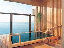 *屋上貸切露天風呂「般若の湯」/熱海の海を一望できる貸切露天風呂!