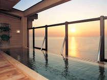*露天風呂「走り湯」/天然温泉を堪能しながら、美しい朝日に魅了される贅沢なひとときを…♪