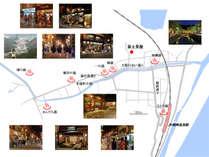 城崎温泉7つの外湯はすべて徒歩圏内。オススメスポットもご紹介します。