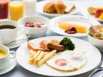 【朝食】期間限定セットメニュー(洋食)