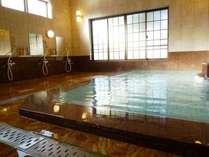 温泉浴場「浦子の湯」お泊りの方は一晩中入浴可能です(女湯)