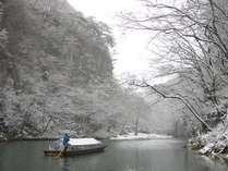 日本100景猊鼻渓舟下り乗船券付プラン アンコウ鍋であったまる冬の和楽御膳