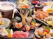 冬のぜいたく饗宴(きょうえん)御膳