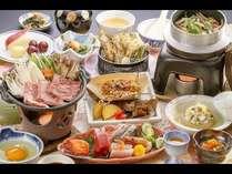 自慢の「いわて南牛」をすき焼きで。多彩な食材を揃えた 2019錦秋御膳