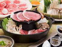 猪肉のすき焼き&焼肉