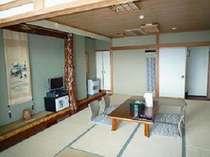 ひば造りの部屋