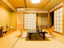 【標準客室】シンプルで落ち着いた雰囲気の和室は年代を問わず寛げる(客室一例)