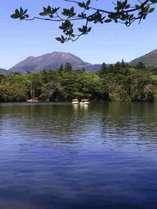近隣にある白雲の池。夏場に涼見たい時などにおすすめ。当館より車で30分