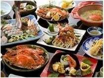 蟹会席_お料理一例※料理内容は、季節やその時の水揚された素材により異なる場合があります。